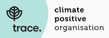 We're a climate positive organisation.